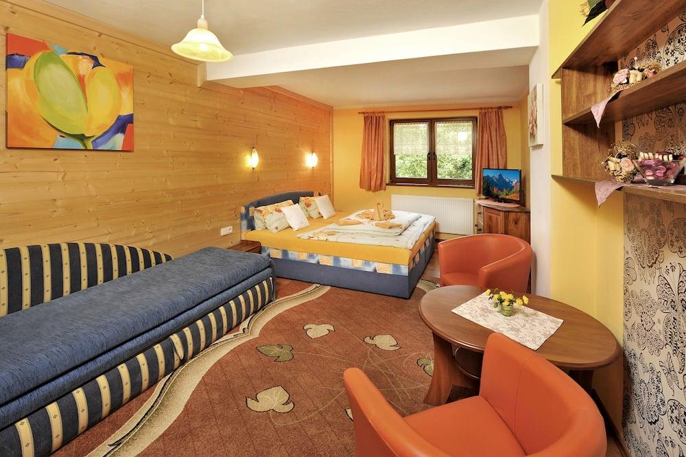 Двомісний номер (1 двоспальне або 2 односпальних ліжка) (Extra bed) - Житлова площа