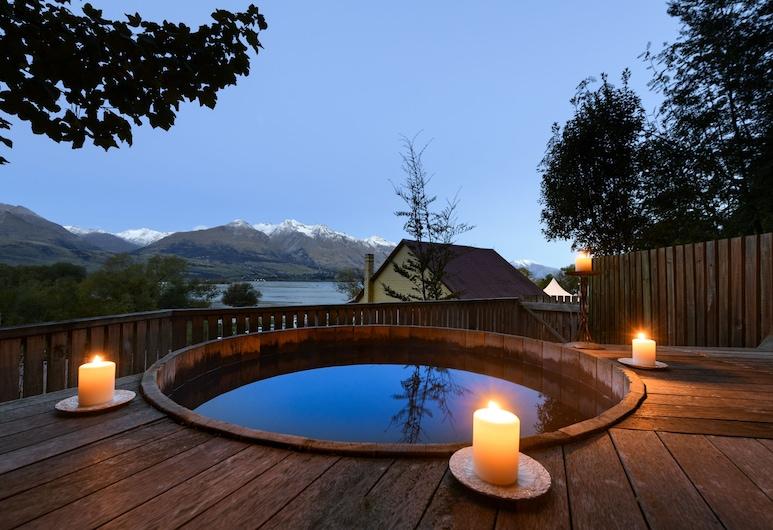 Heritage Lodge at Kinloch Lodge, Кінлох, Спа-ванна під відкритим небом