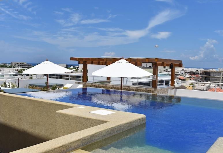 سول بيتش بوتيك هوتل آند سبا , شاطئ كارمن, حمام سباحة على السطح