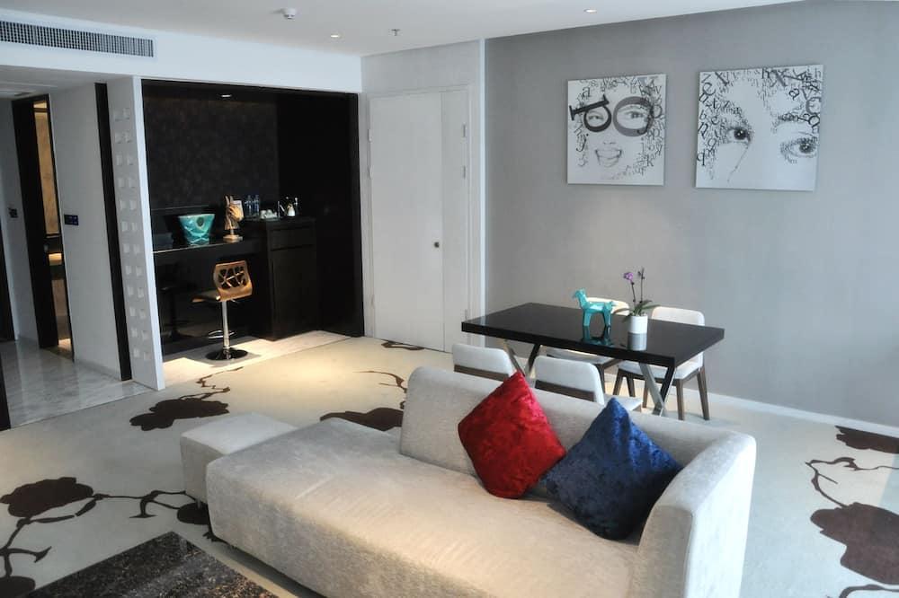 Grand-suite - Opholdsområde
