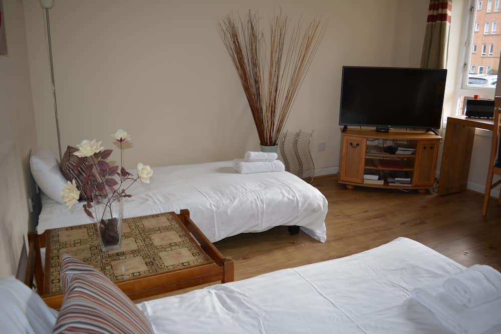 Departamento, 2 habitaciones, cocina - Sala de estar