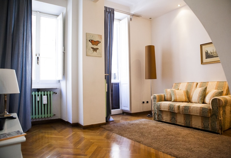 Piazza di Spagna Rome Apartments, Roma, Leilighet, 1 soverom, balkong, Vaskeritjenester