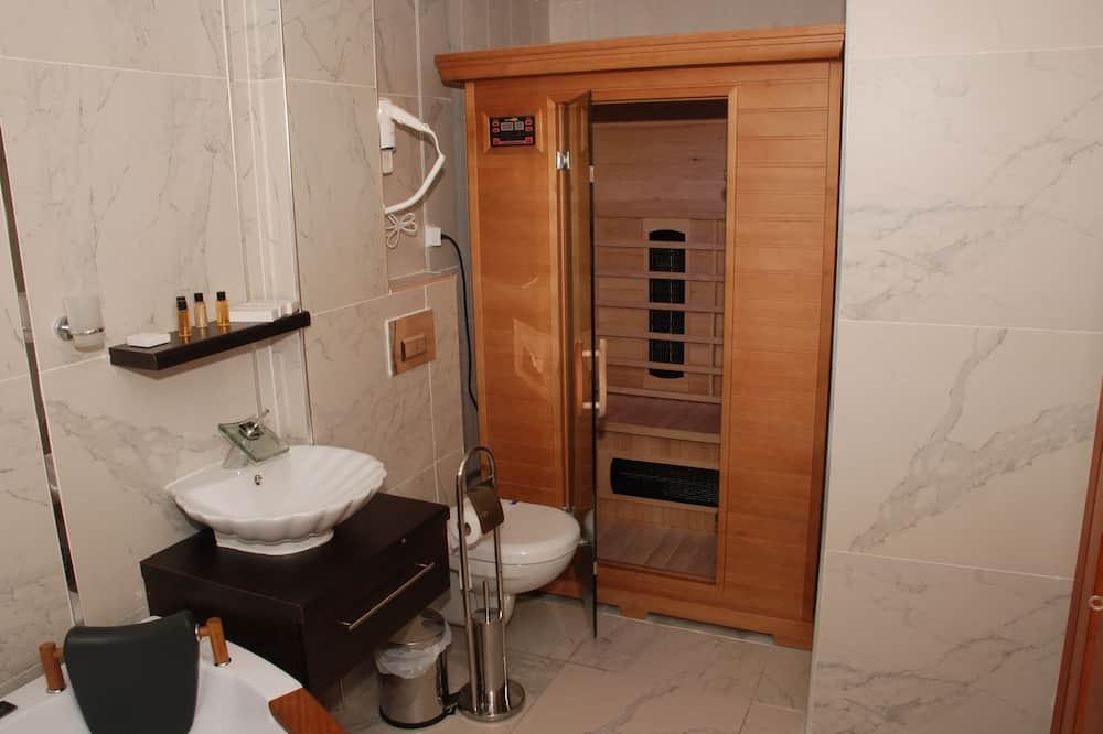 Romantic Room, Sauna - Bathroom