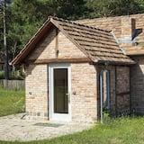 Exclusive - kahden hengen huone, Makuuhuoneen yhteydessä oleva kylpyhuone, Näköala puutarhaan - Vierashuone