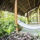 Bungalow, 2 camas individuais, Vista Jardim - Varanda
