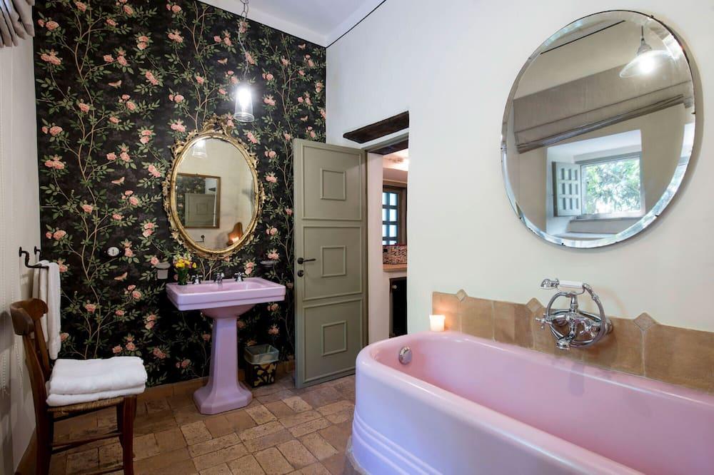 Suite, Terrasse - Badezimmer