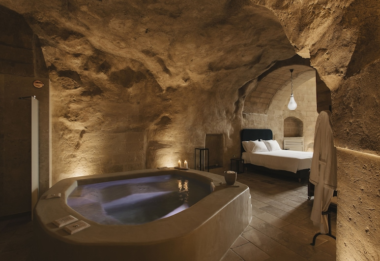 Palazzo del Duca, Matera, Suite, Hot Tub, Guest Room