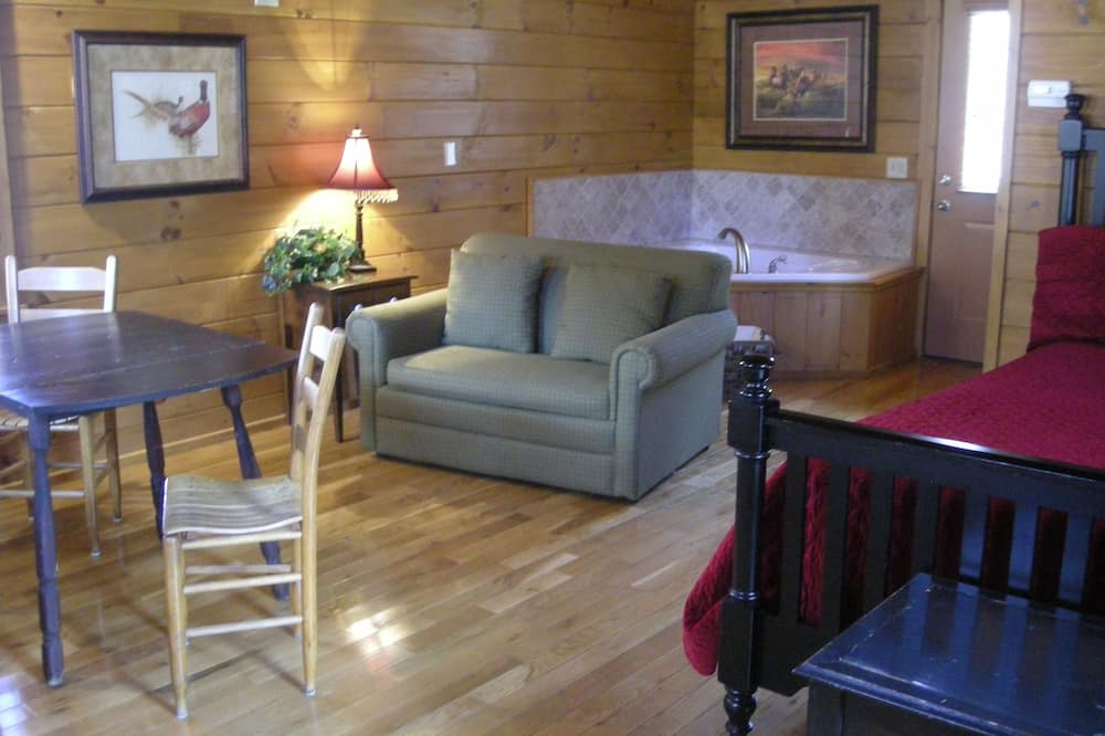 Cabin, 1 Queen Bed (295: Trails End) - Living Area