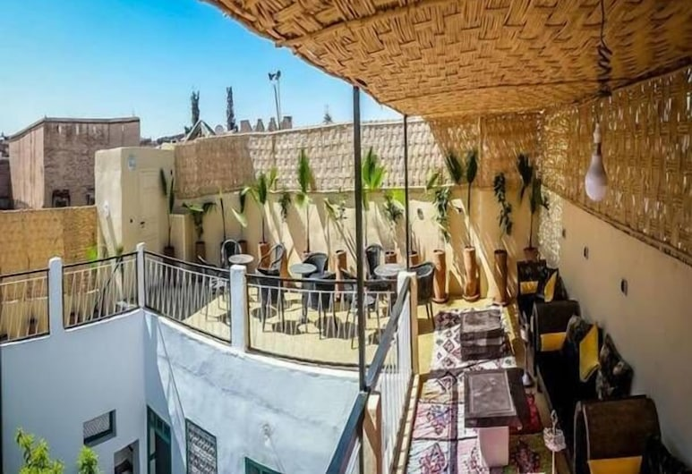 Kaktus Hostel, Marrakech, Terrace/Patio