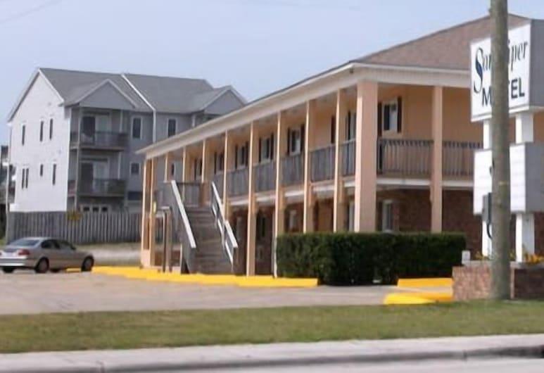 Sandpiper Motel, Pantai Atlantic , Hadapan Hotel