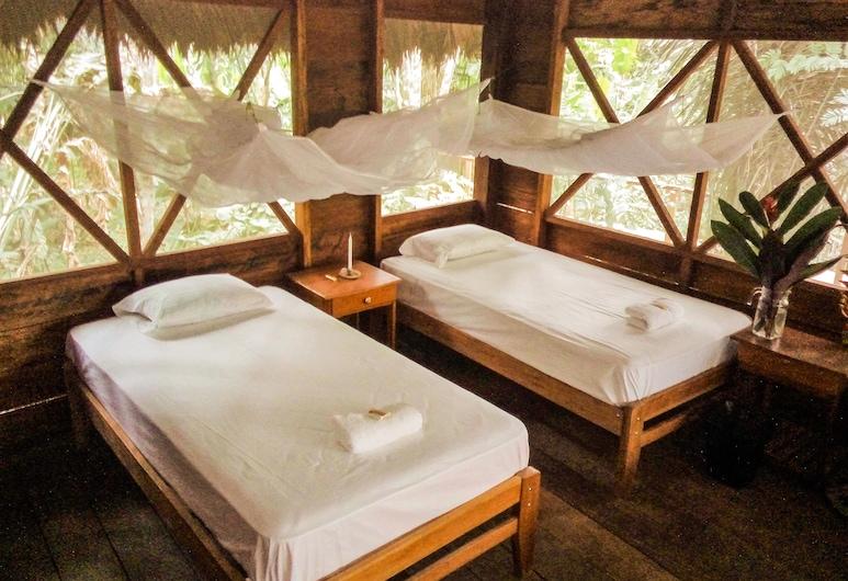 تامبوباتا ريفر, تامبوباتا, منزل صغير - سريران فرديان منفصلان - بشرفة - في منطقة الحديقة, الغرفة