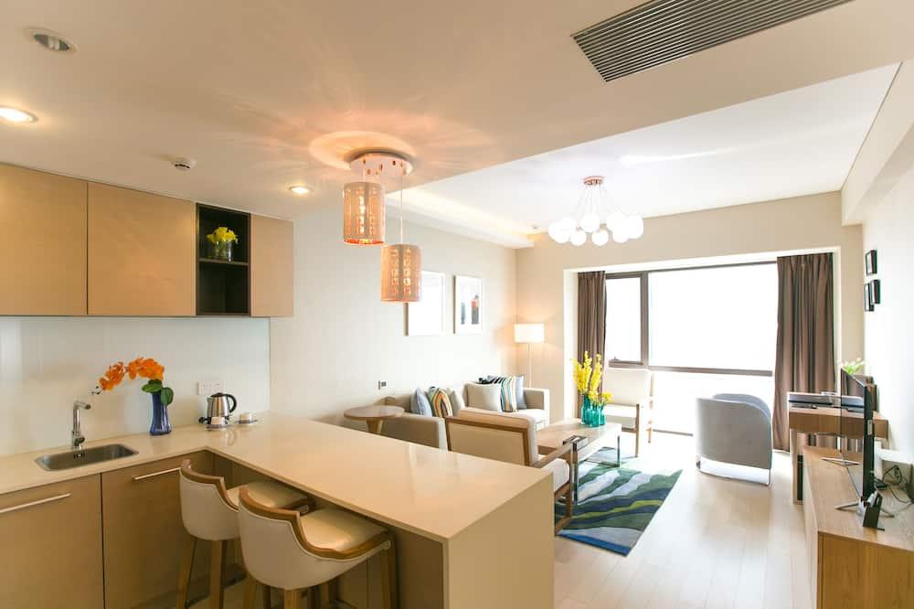Executive-suite - 2 queensize-senge - Værelse