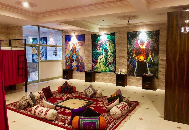 Hotel Classic Inn, Jaipur, Deluxe Shared Dormitory, Mixed Dorm, Living Area