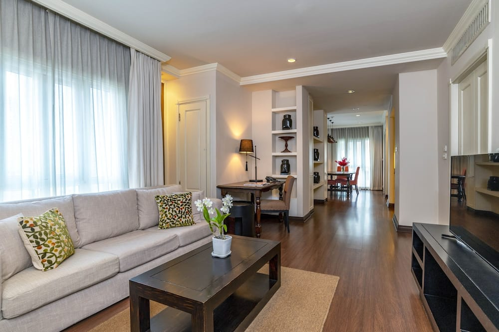 Familien-Suite, 2Schlafzimmer - Wohnzimmer