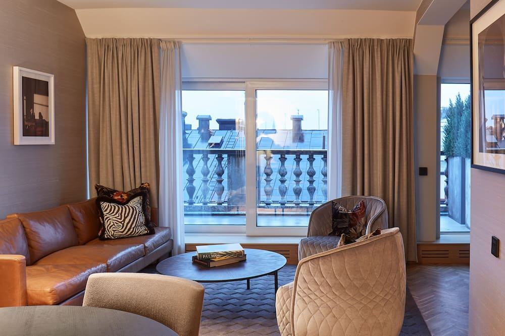 Executive penthouse, terras - Woonruimte