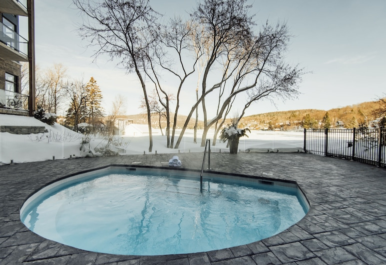 英托拉格湖畔旅馆, 勃伯赫湖, 室外 SPA 浴缸
