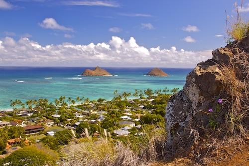 "Kailua Lani Luxury Suite ""kort spasertur til Kailua og Lanikai strender/></noscript><img class="""" data-src=""https://exp.cdn-hotels.com/hotels/19000000/18860000/18856500/18856433/2cf7ecf2_y.jpg?impolicy=fcrop&w=500&h=333&q=high"" alt=""'Kailua Lani Luxury Suite ""kort spasertur til Kailua og Lanikai strender""/></span></div><div class=""_2mwGi9""><div class=""_1AWUGb""><section class=""xQv_W8""><div class=""OXlLRS""><h2 class=""_3-7yB4"">'Kailua Lani Luxury Suite ""kort spasertur til Kailua og Lanikai strender</h2></div><p class=""_1lXFgH""><span class=""_3PJboa""><span>Kuulei Tract</span><span>1,2 kilometer til sentrum</span></span></p></section></div><div class=""_30dwfS _1hMIWH""><div class=""_2dCxfW""><span class=""S269px _1yY-Dp""><span class=""is-visually-hidden"">Gjestevurdering</span><span class=""_1biq31 _11XjrQ _3yXMS-"">10,0<span class=""is-visually-hidden"">.</span></span><span class=""_3Luohr"">Enestående</span><span class=""_3HBaeM"">58 gjesteanmeldelser fra Hotels.com</span></span></div></div></div><a href=""https://no.hotels.com/ho604405856/kailua-lani-luxury-suite-kort-spasertur-til-kailua-og-lanikai-strender-kailua-usa/"" class=""_61P-R0"" rel=""nofollow noopener noreferrer""><span class=""is-visually-hidden"">'Kailua Lani Luxury Suite ""kort spasertur til Kailua og Lanikai strender</span></a></div></li><li><div class=""tObE0n""><div class=""_1M0UZH""><span class=""_1Ac6YH _2NFd5j _1DW1ZH ZCedaV""><noscript><img src=https://exp.cdn-hotels.com/hotels/20000000/19100000/19091400/19091359/6177e947_y.jpg?impolicy=fcrop&w=500&h=333&q=high alt=Kailua Beach Vacation Cottage / Ukentlige priser og vilkår tilgjengelig på forespørsel/></noscript><img class="""" data-src=""https://exp.cdn-hotels.com/hotels/20000000/19100000/19091400/19091359/6177e947_y.jpg?impolicy=fcrop&w=500&h=333&q=high"" alt=""Kailua Beach Vacation Cottage / Ukentlige priser og vilkår tilgjengelig på forespørsel""/></span></div><div class=""_2mwGi9""><div class=""_1AWUGb""><section class=""xQv_W8""><div class=""OXlLRS""><h2 class=""_3-7yB4"">Kailua Beach V"