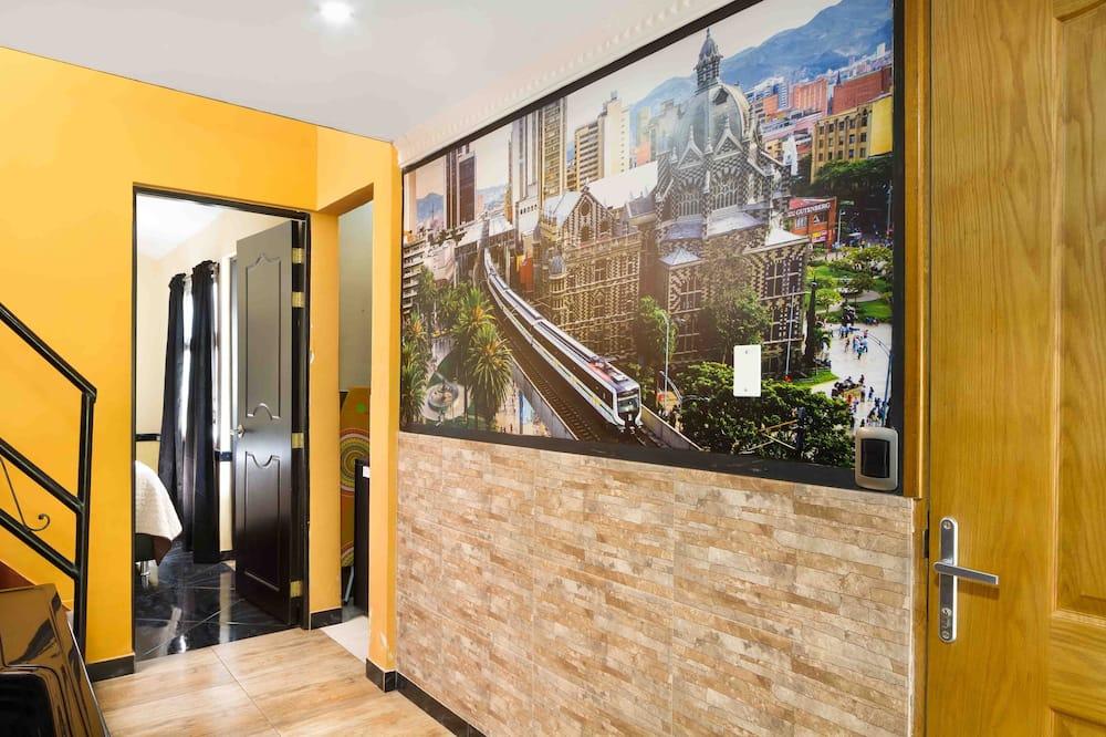 Classic Apart Daire, 1 Yatak Odası, Sıcak Su Havuzu - Oturma Alanı