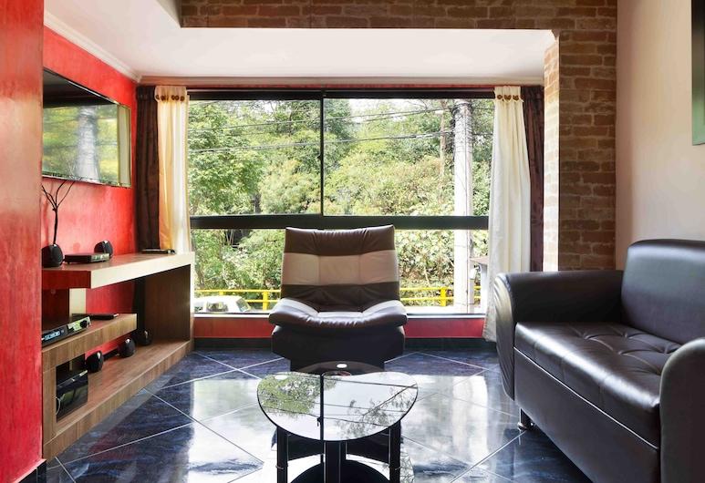The Lofts 11, Μεντεγίν, Classic Διαμέρισμα, 1 Υπνοδωμάτιο, Τζακούζι, Καθιστικό