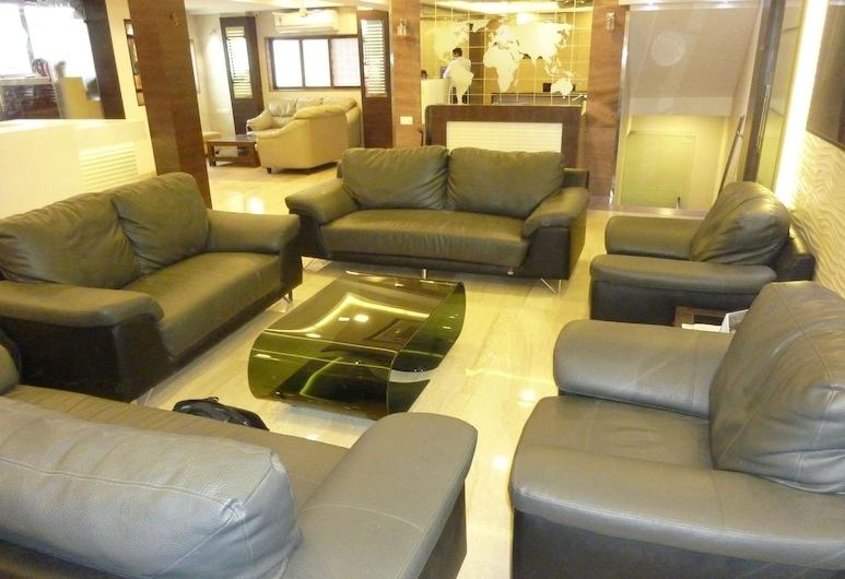 Hotel Orient Palace, Mumbai, Priestory na sedenie v hale