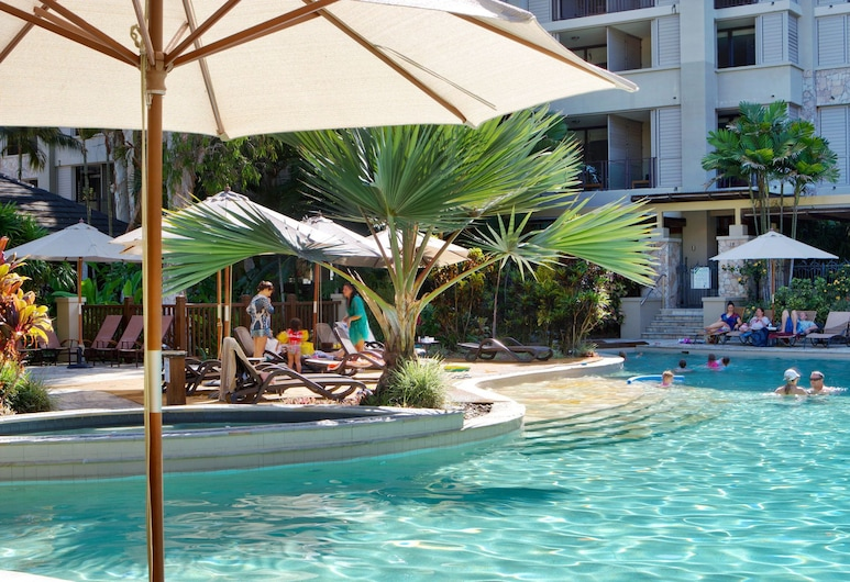 Private Sea Temple King Studio 423, Palm Cove, Vonkajší bazén