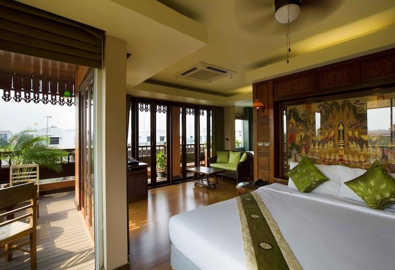 Lamphu Tree House Boutique Hotel, Μπανγκόκ, Suite bathtub (Second Building), Δωμάτιο επισκεπτών