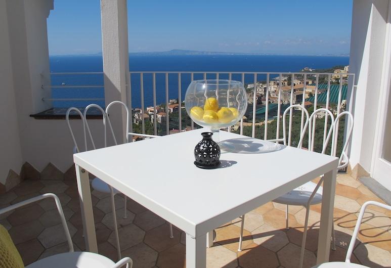 Antonio Massa Lubrense, Massa Lubrense, Habitación doble panorámica, 2 habitaciones, para no fumadores, vista al mar, Balcón