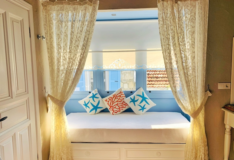 Maison d'Azur Alacati, Τσεσμέ, Superior Τρίκλινο Δωμάτιο, Δωμάτιο επισκεπτών