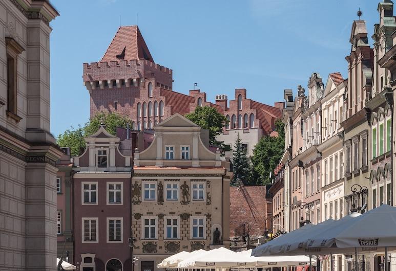 Hill Inn, Poznanė, Išorė