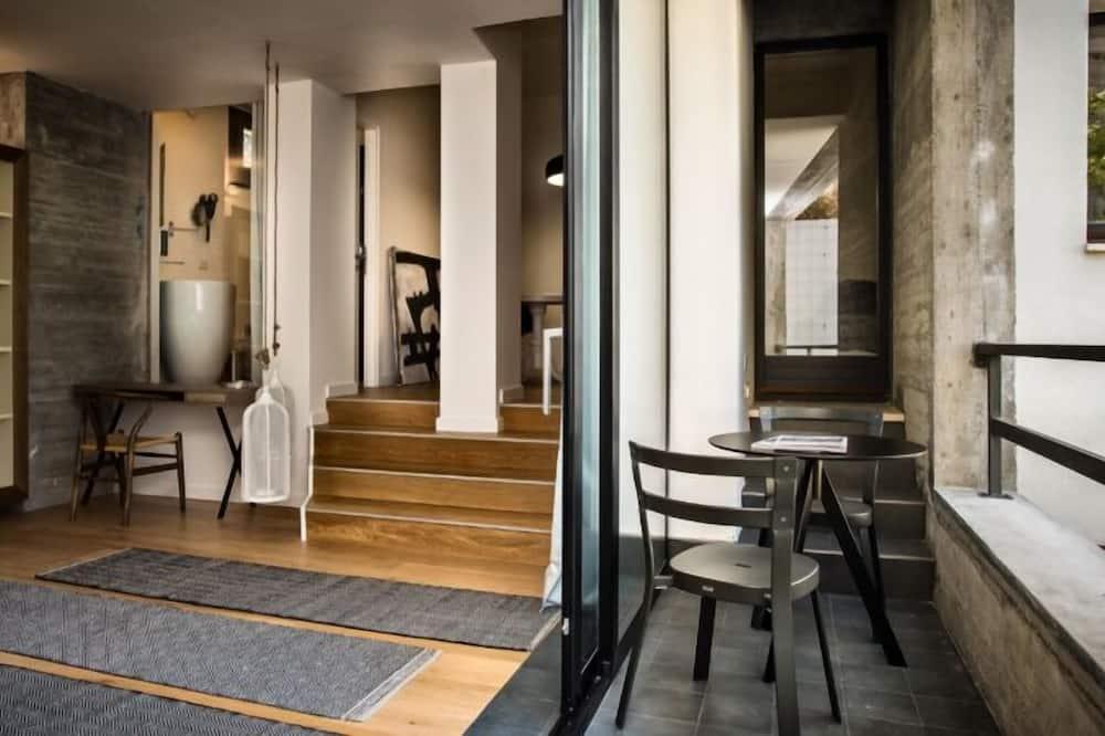Süit, Balkon, Bahçe Manzaralı - Balkon