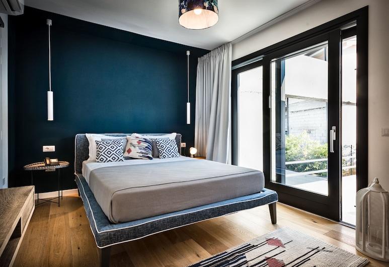 Teku Boutique Hotel , Bari Sardo, Superior Double Room, Balcony, Garden View, Bilik Tamu