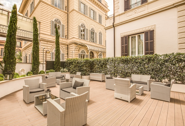 The Liberty Boutique Hotel, Rome, Vườn