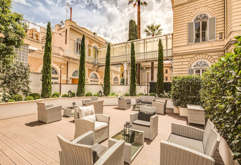 The Liberty Boutique Hotel, Rome, Jardin