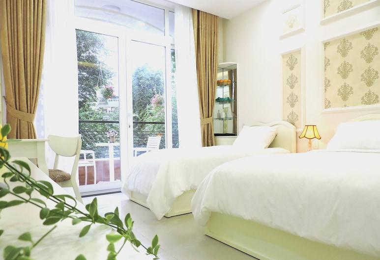 Chez Mimosa Home, Ho Chi Minh-Stad, Familiekamer, Balkon, Kamer