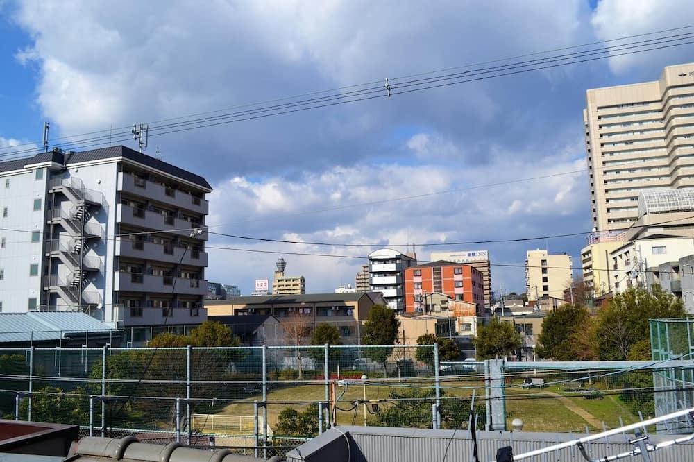 Basic szoba két külön ággyal, japán futon, nemdohányzó, kilátással a parkra - Kilátás a parkra