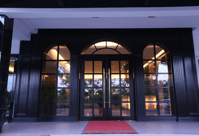 7 Heaven Boutique Hotel, Masai, Entrada del hotel