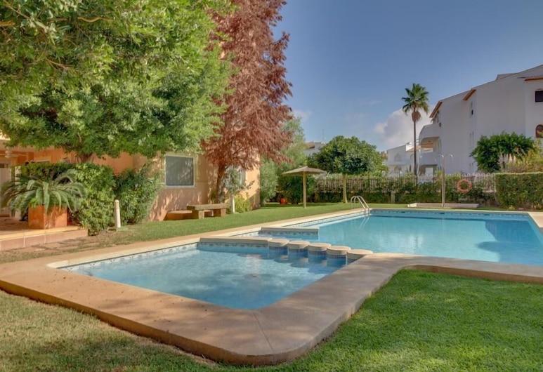 席耶斯塔公寓酒店, Javea, 室外泳池