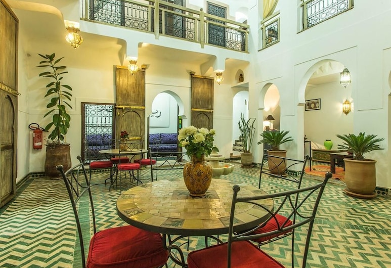 里亞德艾席拉酒店, 馬拉喀什, 大堂