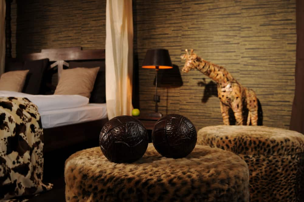 Pokoj Premium s dvojlůžkem, 1 ložnice - Obývací prostor