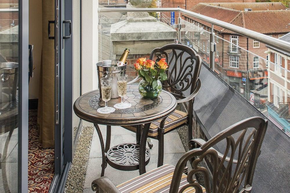 Habitación doble superior, terraza - Balcón