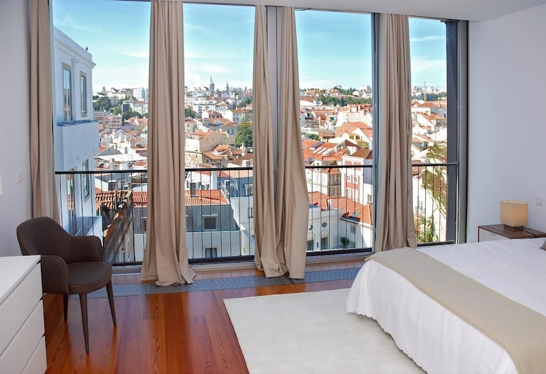 Santa Catarina Luxury Apartments by linc, Lissabon, Apartment, 4Schlafzimmer, Stadtblick (Calçada do Combro, 127), Ausblick vom Zimmer