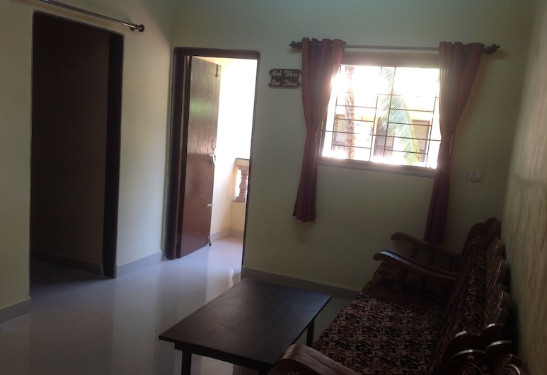 Cassianos, Varca, Apartment, 2 Bedrooms, Smoking (Without AC), Living Room