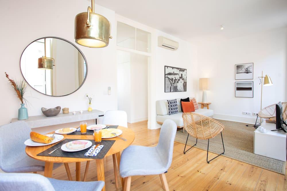 Apartman, 2 spavaće sobe (Rua do Sol a Santa Catarina, 26) - Dnevna soba
