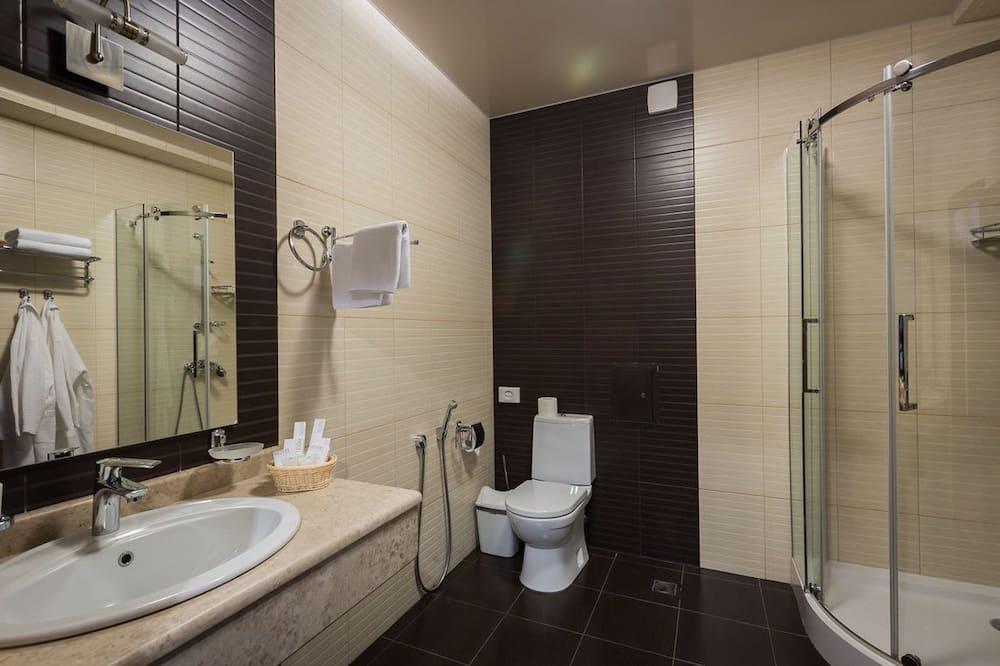 舒適套房 - 浴室