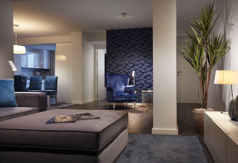 Livescape Soriano Suites, Marbella, Vardagsrum