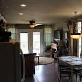 Turner Falls Cabin 1 - Зона гостиной