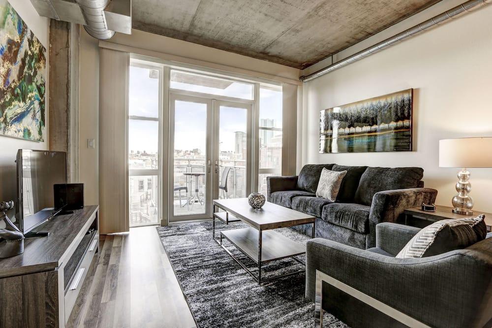 Loft standardowy, 2 sypialnie - Salon
