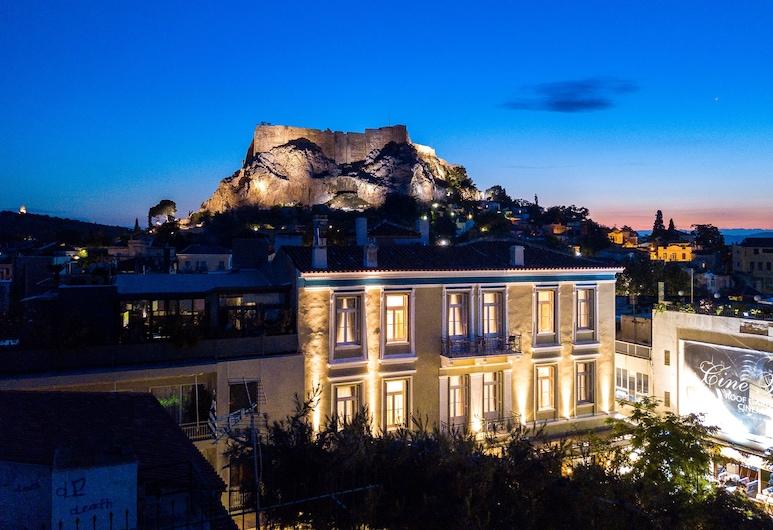 Palladian Home, Athens, Mặt tiền khách sạn - Ban đêm