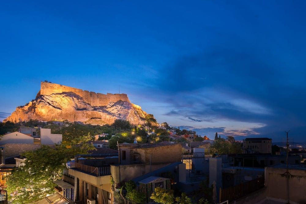 Deluxe lakosztály, erkély (Acropolis View) - Erkély