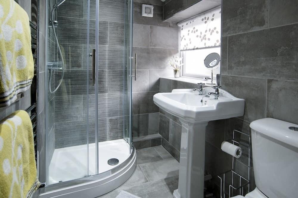 Rekreačná chata typu Superior, súkromná kúpeľňa, výhľad na záhradu - Kúpeľňa